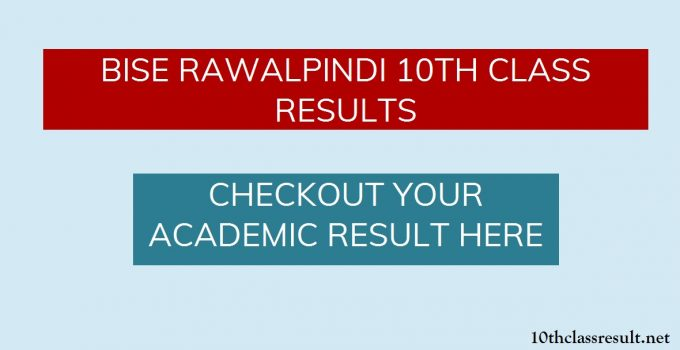 10th Class Result 2020 Rawalpindi Board